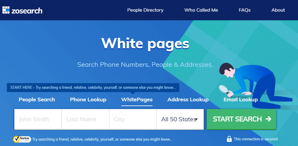 Zosearch Whitepages Review 2020
